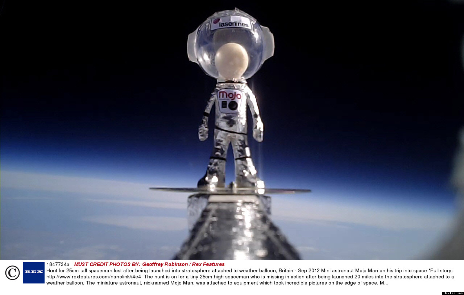 Tiny Astronaut 'Mojo Man' Lost After Mission To The Edge ...