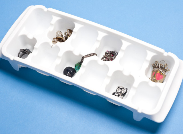 Home Organizing Tip Use An Ice Cube Tray To Store Jewelry HuffPost
