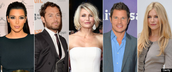 CELEBRITIES WHO DATED THE SAME PEOPLE