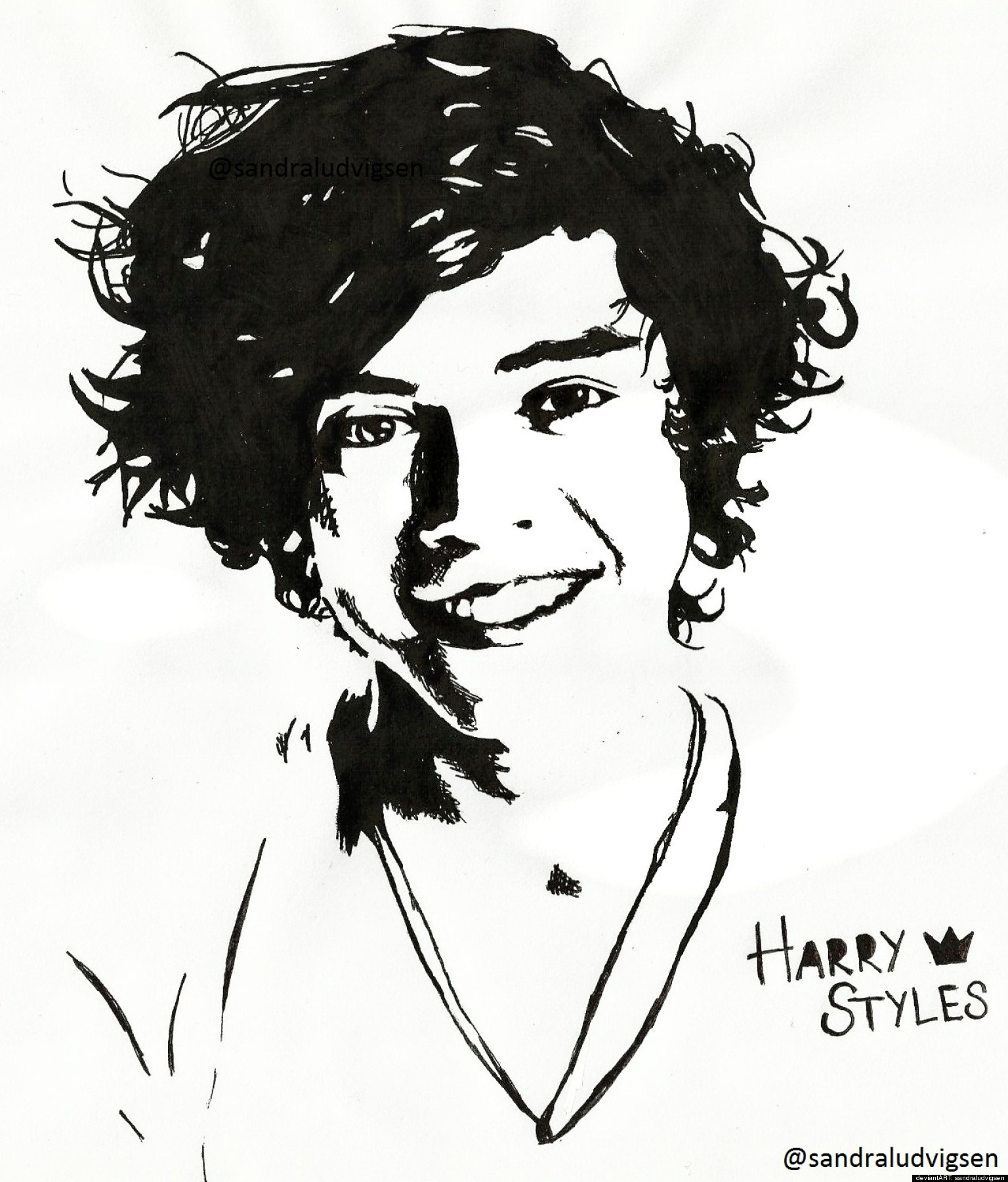 one direction fan art 5 awesome illustrations of the boy band look huffpost