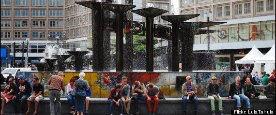 BERLIN TOURIST BASHING