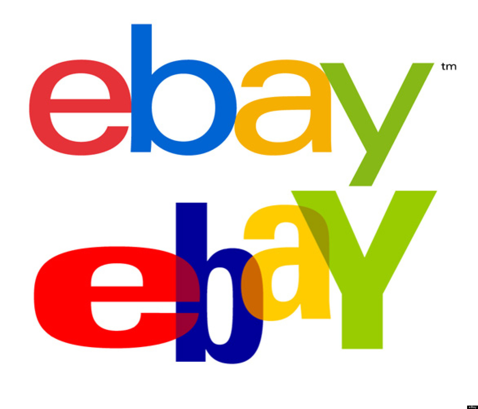 eBay New Logo: A Lot Like The Old Logo, But With A Cleaner