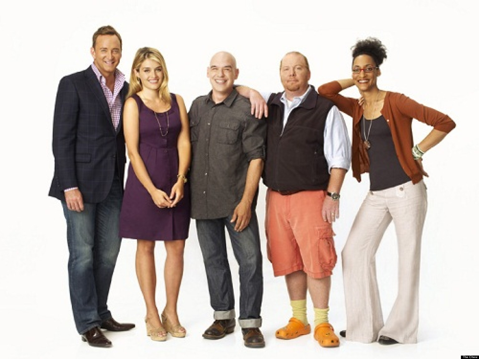 The Chew Cast the chew': one year in for abc's daytime food show | huffpost