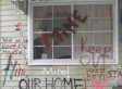 Kelly Parker Foreclosure: Single Mother With Cancer Fights Eviction By Covering Home In Graffiti