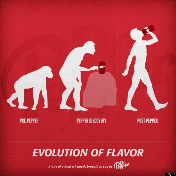 dr pepper evolution ad