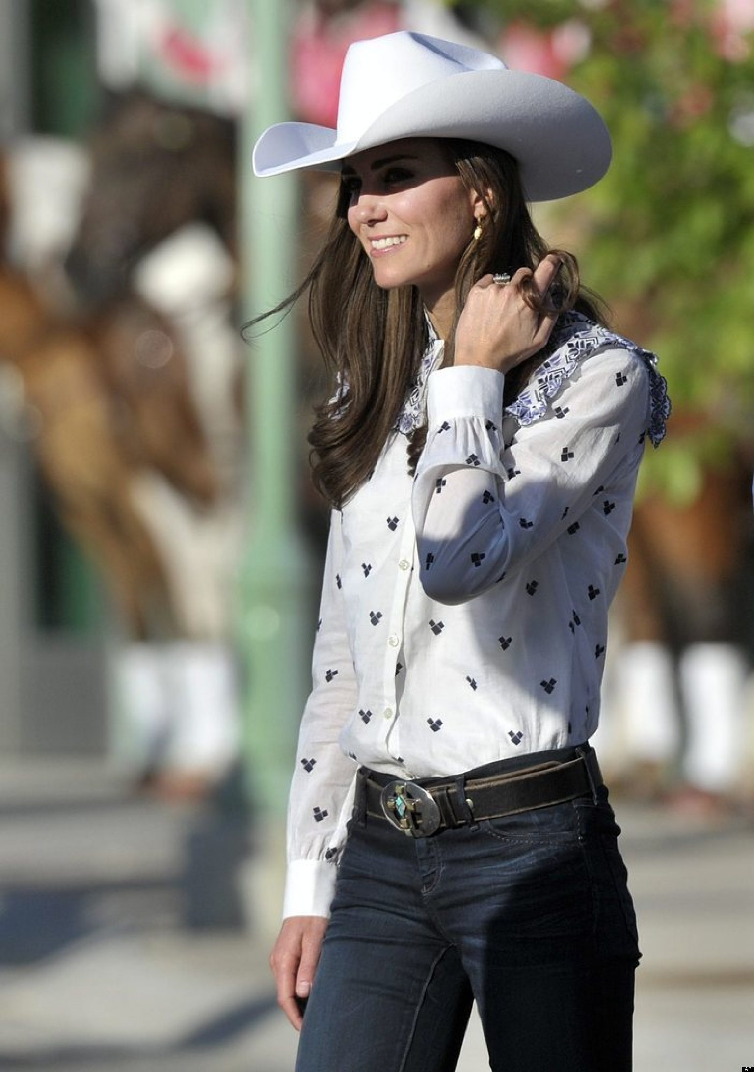 Kate Middleton Topless Photo Row From Cowgirl To