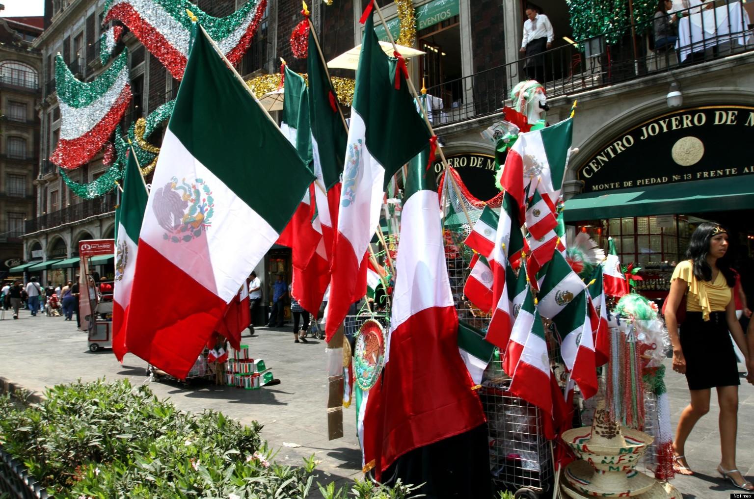 México vive sus Fiestas Patrias en sus mercados