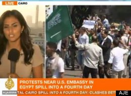 Middle East Protests Television