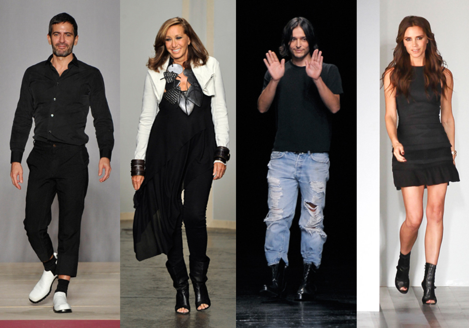 New York Fashion Week Designers Michael Kors Alexander Wang And More In Their Runway Uniforms