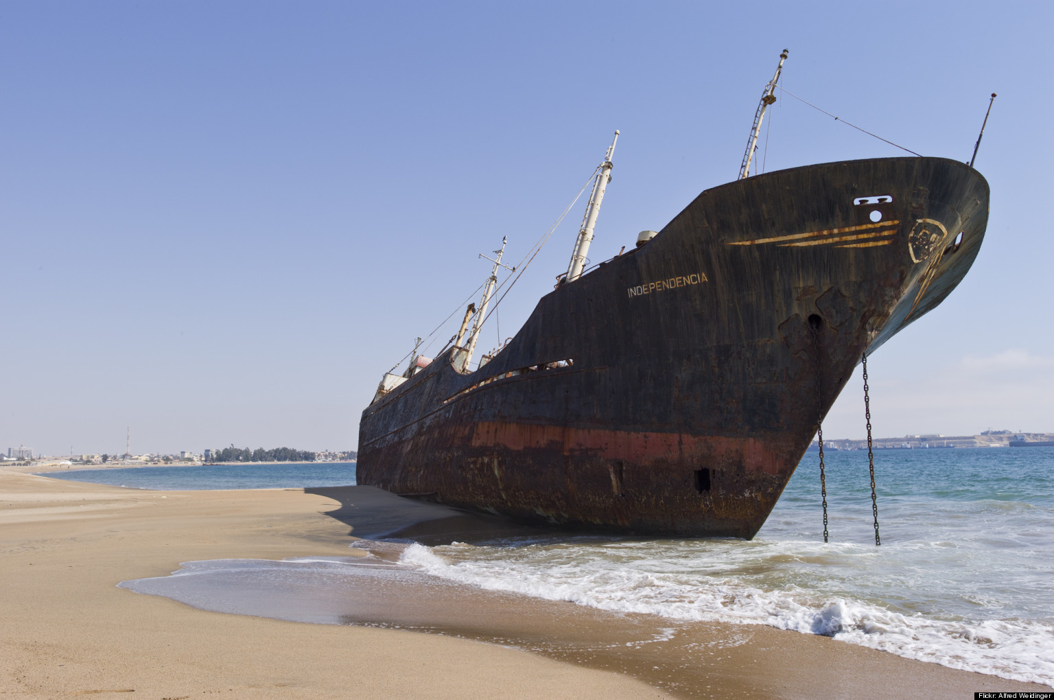 Exploring The World S Eeriest Shipwrecks Photos Huffpost