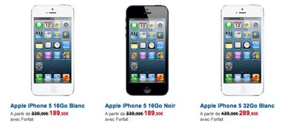 iphone 5 ipod ipod touch les prix des nouveaux produits apple. Black Bedroom Furniture Sets. Home Design Ideas