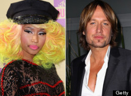 Nicki Minaj Keith Urban American Idol