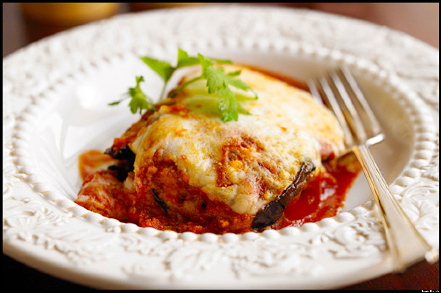 Eggplant Parmesan Recipe — Dishmaps