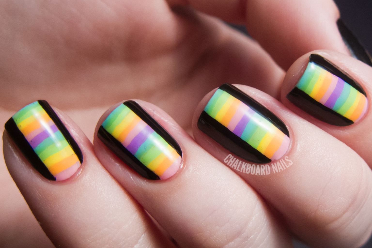 DIY Nail Ideas Kaleidoscope Nail Art And More Of Our Manicures   Easy Diy  Nail Art