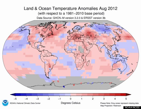 august temperature records