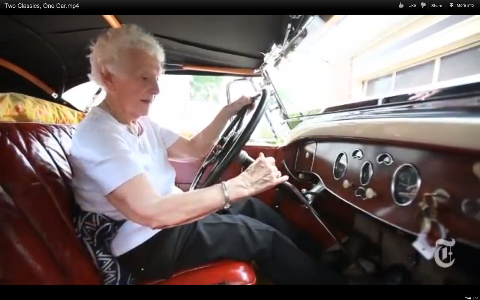 Margaret Dunning, 102-Year-Old Car Enthusiast, Has 94