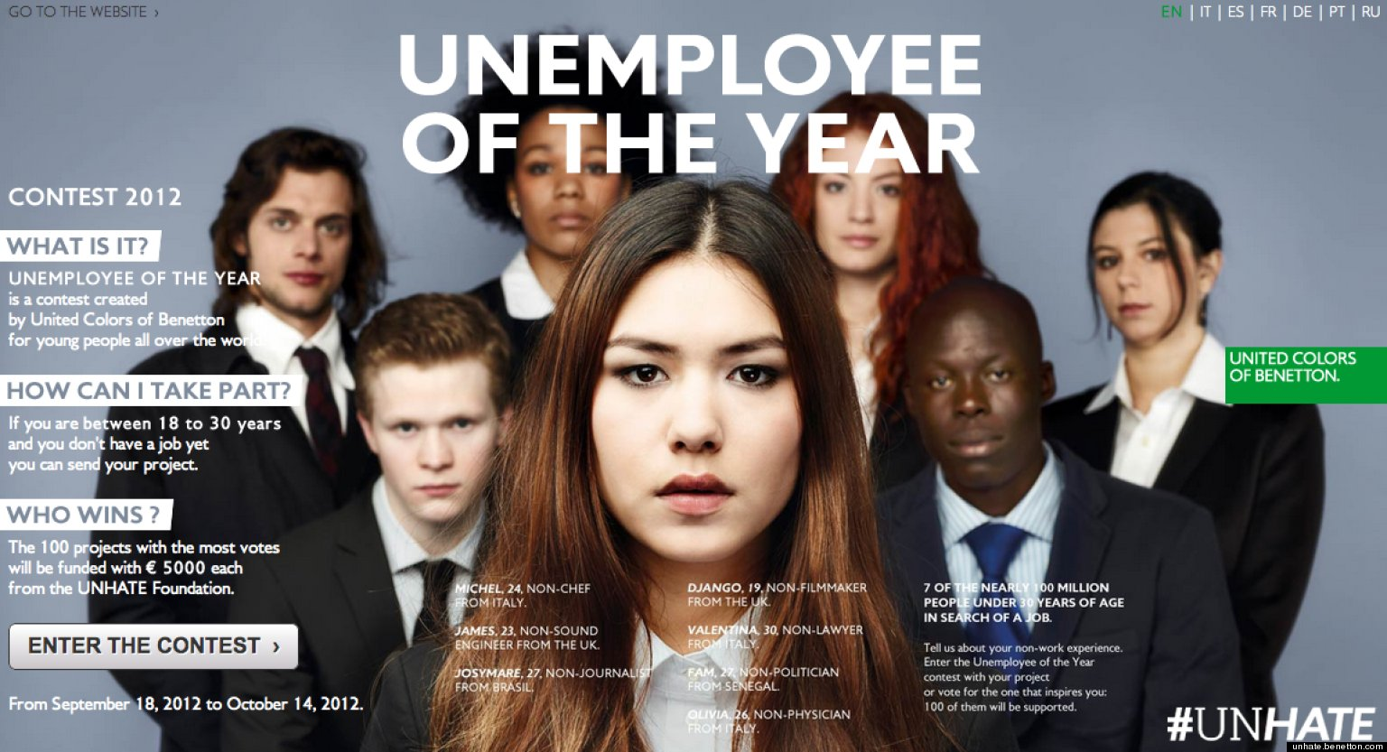 Sanskrit Of The Vedas Vs Modern Sanskrit: Benetton's 'UNHATE' Ad Campaign To Target Unemployed Youth