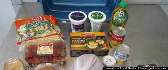 SASKATOON FOOD BASKET CHALLENGE