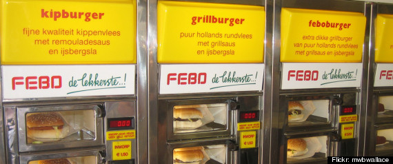 Weird Food Vending Machines