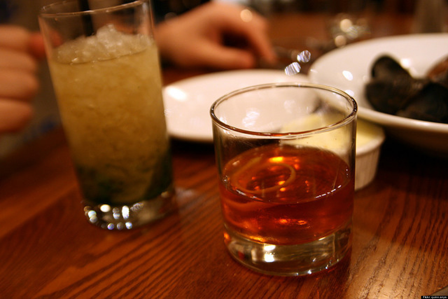 Fall cocktail recipes celebrate autumn with manhattans for Fall cocktail ideas
