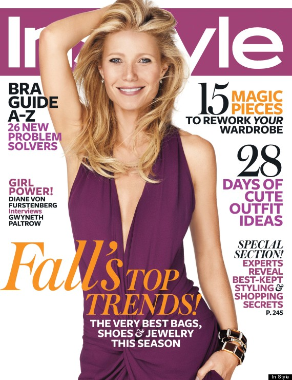 gwyneth paltrow instyle cover