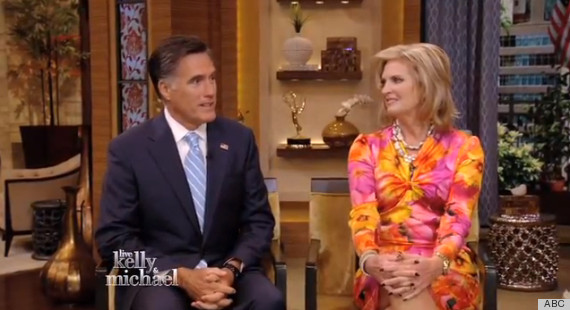 ann romney live with kelly and michael