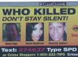 'Who Killed Me?' Billboards Pop Up For Unsolved Murder Campaign In Seattle