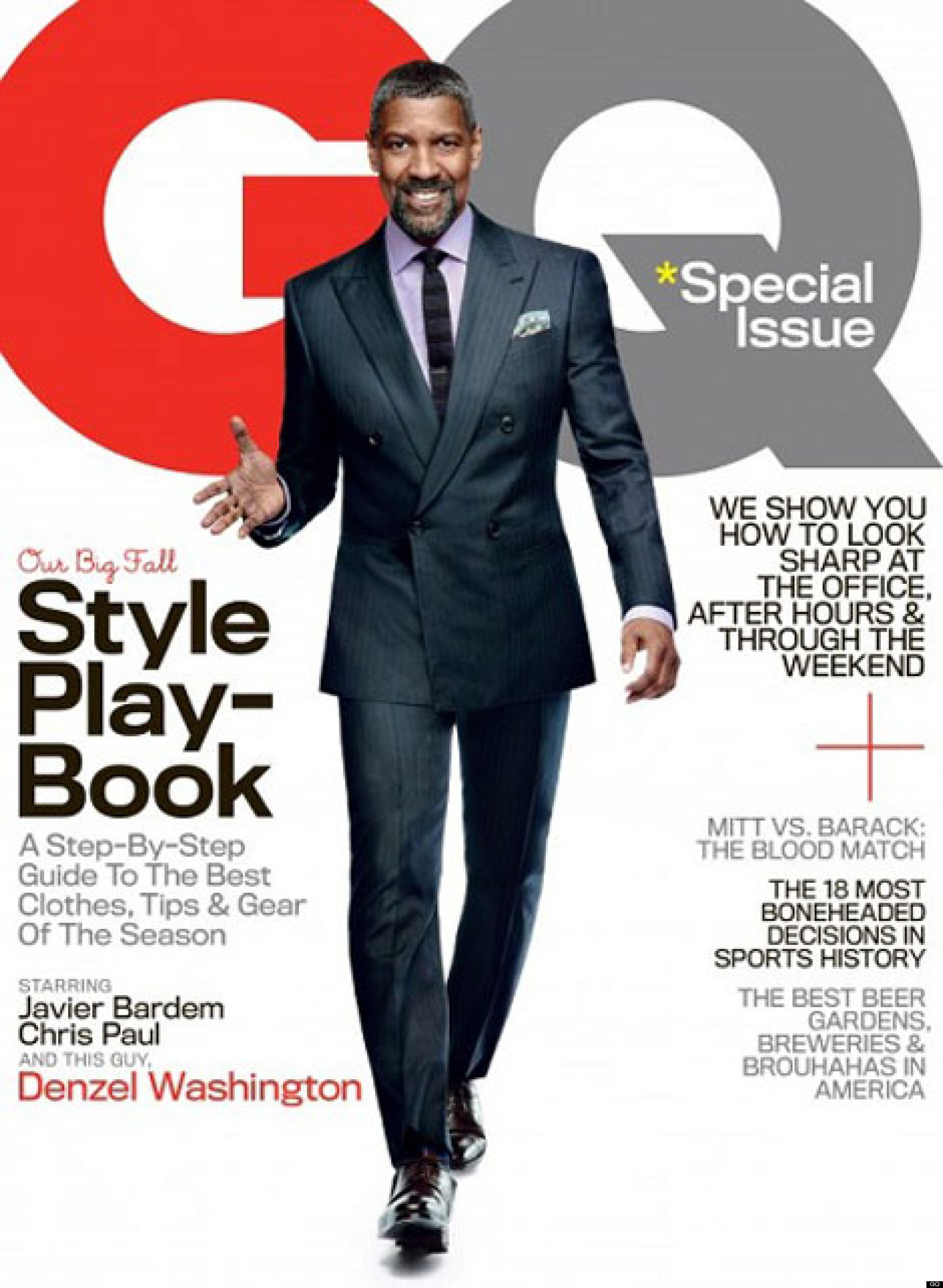 Gq Magazine The Secrets Of R Kelly: Denzel Washington Talks Whitney Houston Death, President