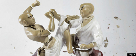 Martin Klimas Porcelain Fighter