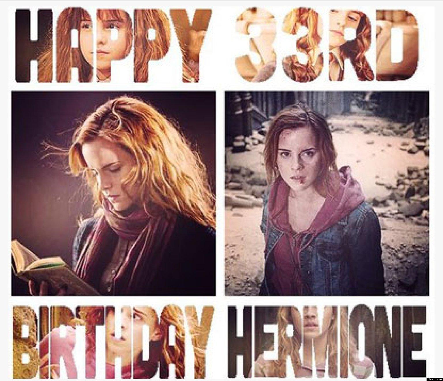 happy birthday hermione by - photo #13