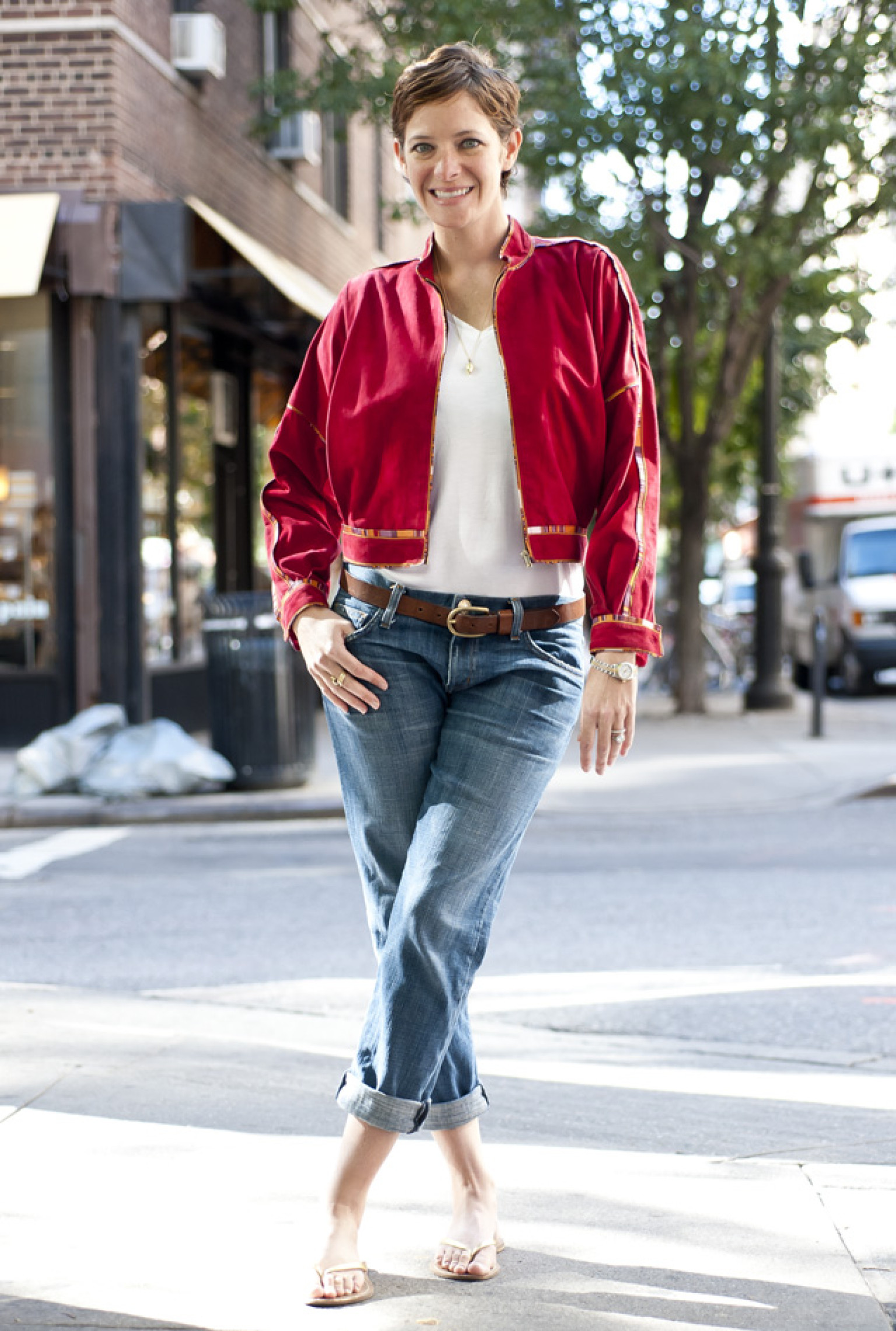 Five Different And Oh-So-Girly Ways To Wear A Varsity Jacket ...