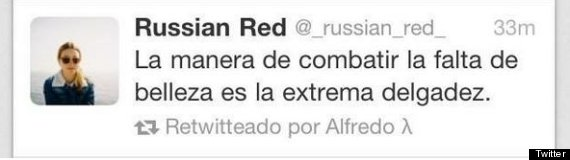 por qué russian red cerrró twitter russian red
