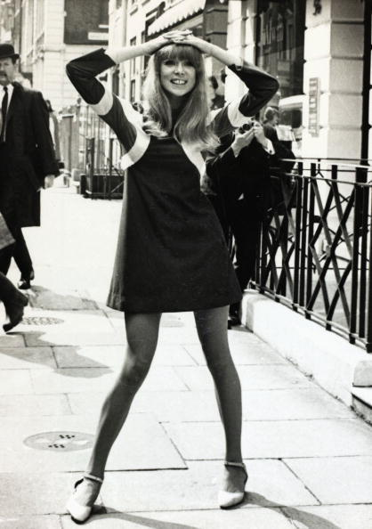 Pattie Boyd, Rock Star Muse, Looks Fab In A Mod Dress (PHOTO