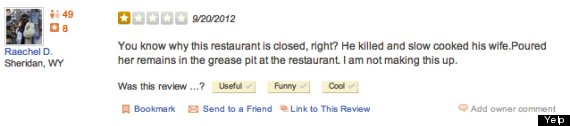 david viens killed cooked wife yelp review thyme