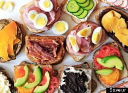 Perfect Pairs: 2-Ingredient Sandwiches
