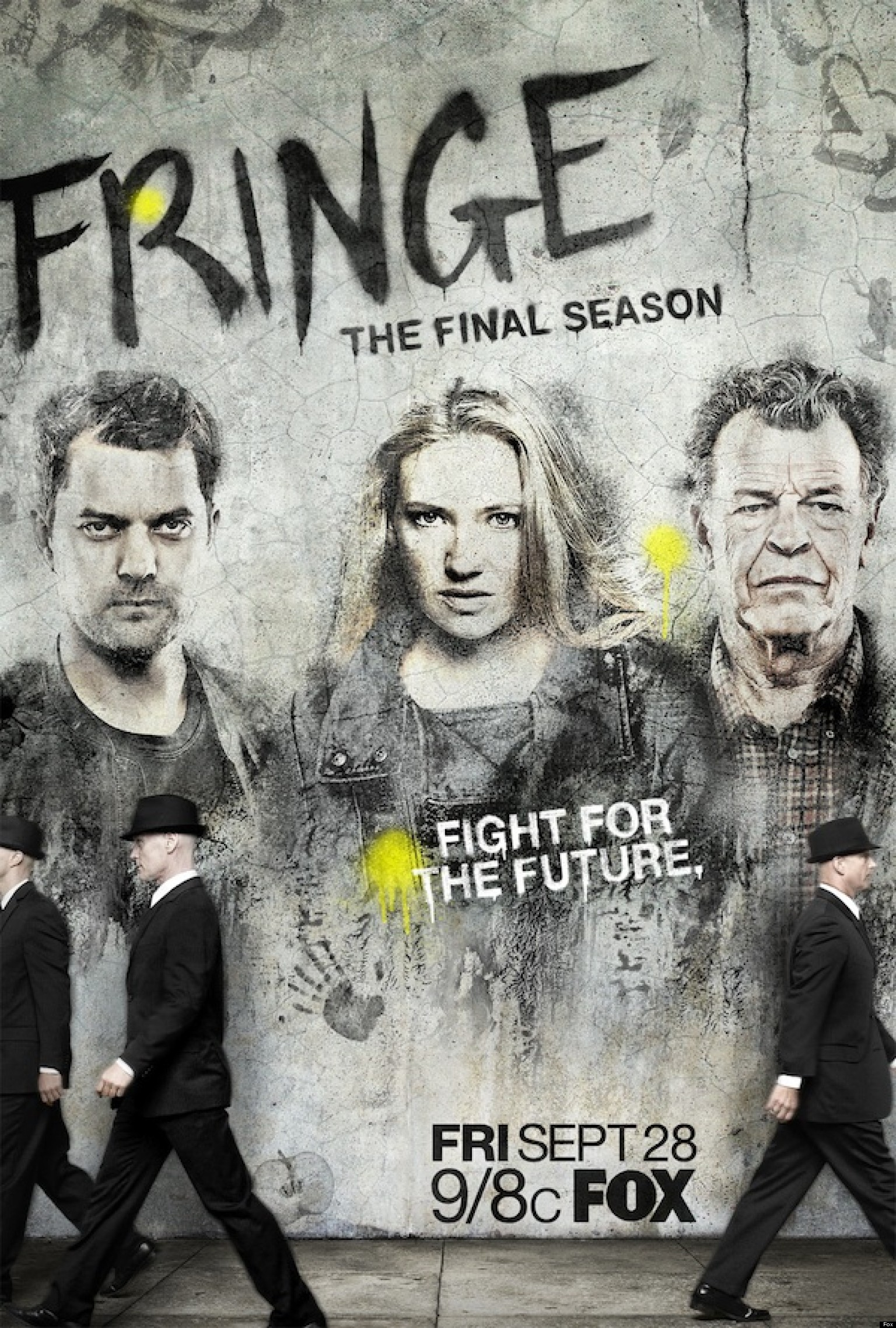 Five 5 Of Pentacles Tarot Card Meanings And Descriptions: 'Fringe' Season 5: Graffiti Poster Previews Rebellious
