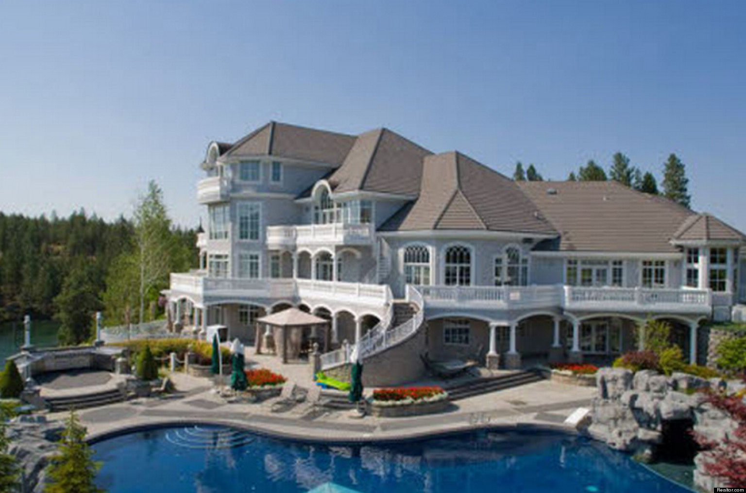 Most expensive homes in the mountain states according to for Pictures of nice mansions
