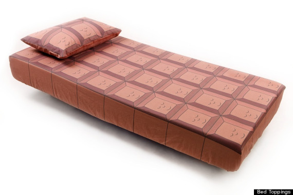 chocolate bar bedding