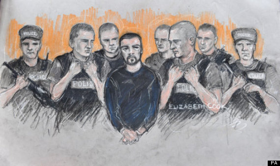 dale cregan court sketch