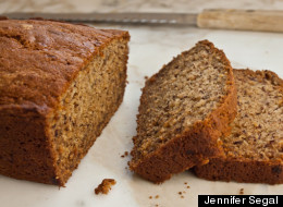 Applesauce Agave Banana Bread