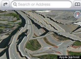 Apple Ios 6 Maps Flub