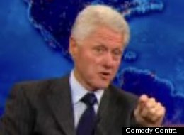 Bill Clinton Daily Show
