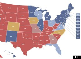 Election Polls Map