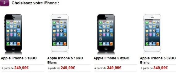 iphone prix virgin