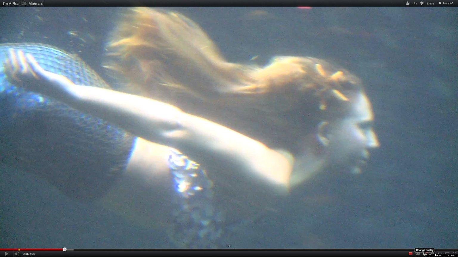 Real Life Mermaids In Florida Aquarium (VIDEO)   HuffPost
