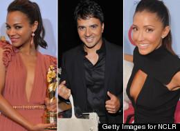 Infraganti: festejos, risas, escotes y más de los famosos en los ALMA Awards 2012