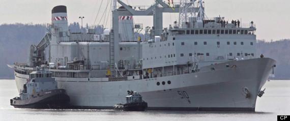 HMCS PRESERVER LEAK