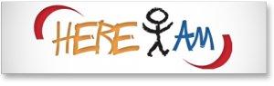 here i am logo