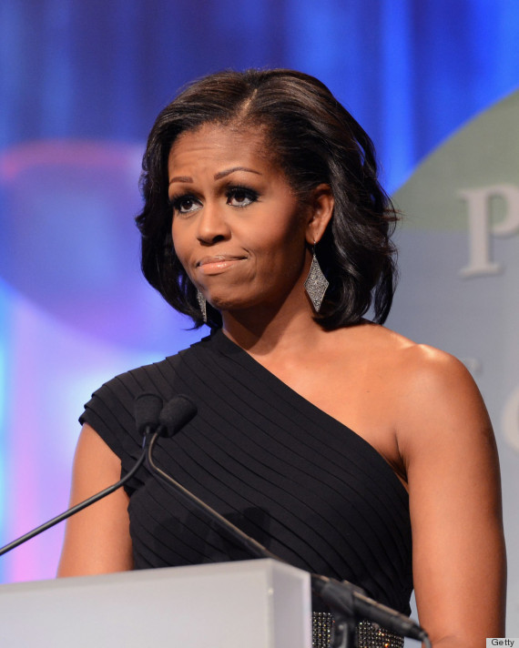 Michelle Obama Congressional Black Caucus: FLOTUS Goes Old Hollywood
