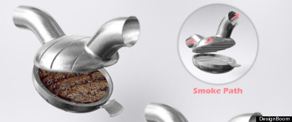 Exhaust Burger Tailpipe Grill
